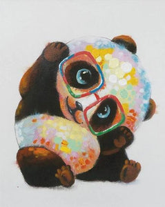Panda Mother and Child - Paint by Numbers Kits