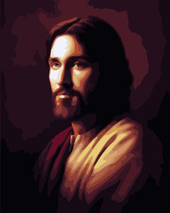 My Precious Paint by Numbers Abstract drawing Jesus Religion Paintings - Paint by Numbers Kits