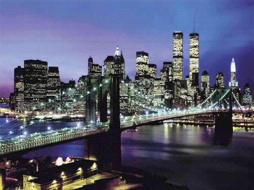 The Beautiful Brooklyn Bridge Painting - Paint by Numbers Kits