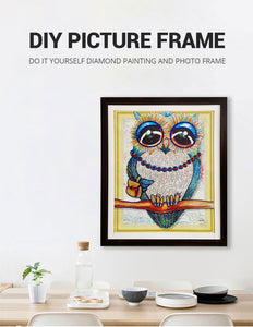 Wooden Frame Diamond Paintings - Paint by Numbers Kits
