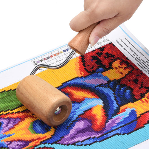 Diamond Painting Aids Wooden Roller - Paint by Numbers Kits