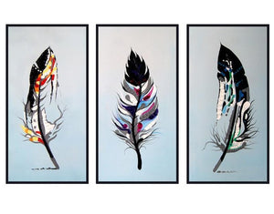 Feather Art DIY Painting By Numbers - Paint by Numbers Kits