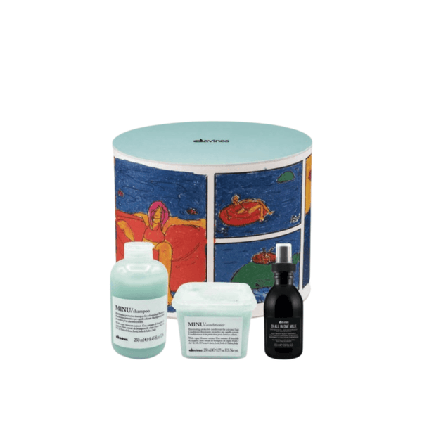 Davines-Minu Gift Set with FREE All in One Milk ($45 value) - Citrus Hair Salon