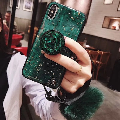 Luxury Fancy Diamond Cute Cover Case