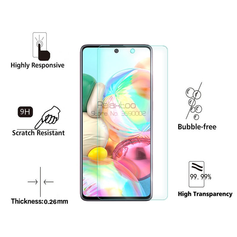 2-in-1 camera protective glass For samsung galaxy a71 a51 2019 a 51 71 51a 71a a515F a715F screen protector tempered glass Film