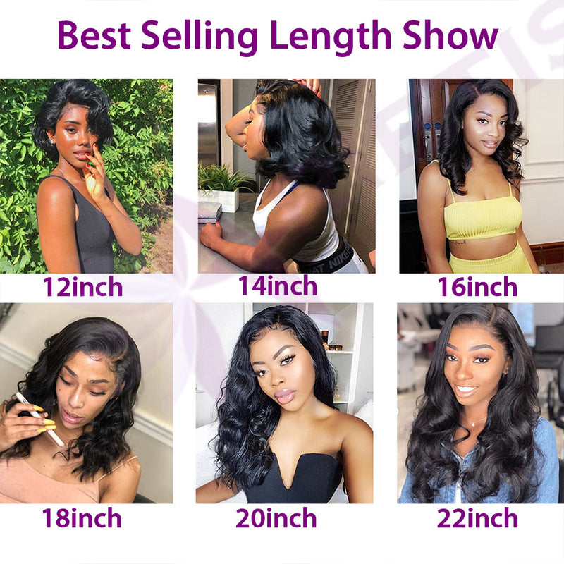 Body Wave Wig 360 150% 180% Malaysian Transparent Lace Front Human Hair Wigs Pre Plucked Remy Human Hair Wigs For Black Women