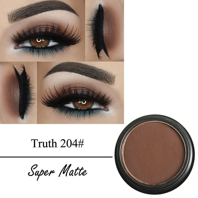 Matte Eyeshadow Palette Waterproof Lasting