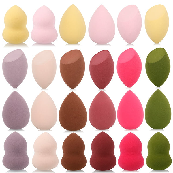 1Pc Cosmetic Puff Powder Puff Smooth Women's Makeup Foundation Sponge Beauty To Make Up Tools & Accessories Water-drop Shape