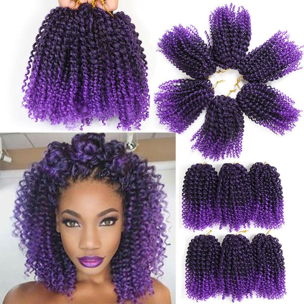 marlybob crochet hair 3 stks/set afro kinky curly hair crochet braids synthetic braiding hair jumbo jerry curl hair extension