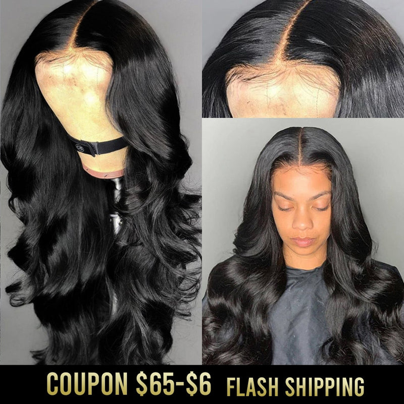 Body Wave Lace Front Human Hair Wigs Brazilian Human Hair Wigs Hd Remy 360 Full Lace Frontal Wig pre plucked For Black Women