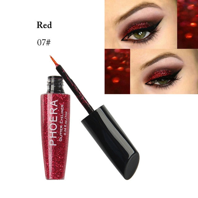 Makeup Liquid Glitter Eyeliner Waterproof