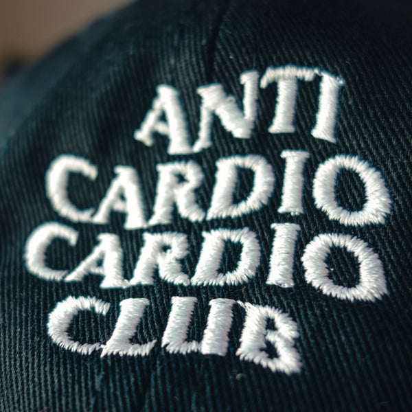 Anti Cardio Club Dad Hat