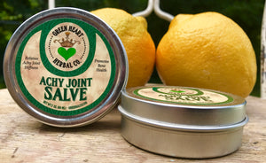 Achy Salve 2oz Relieves Stiffness - All Natural