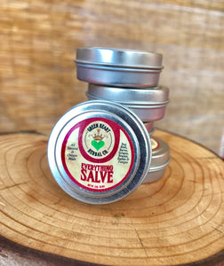 Everything Salve 1/2 oz   Bug Bites, Burns, Bruises, Cuts, Scrapes, Rashes, Mild Fungus, All Natural