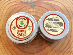 Wound Salve .5 oz Antiseptic and Skin Repair, All Natural