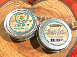 Ultra  Balm 1oz Dry and Chapped skin and Lips with Protection, All Natural