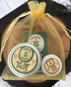 Achy Joint Gift Package (2oz Achy Joint  Rub & .5oz Wound Salve)