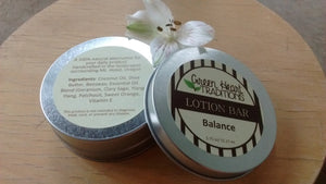 Lotion Bar- Balance - Shea butter and Coconut Oil