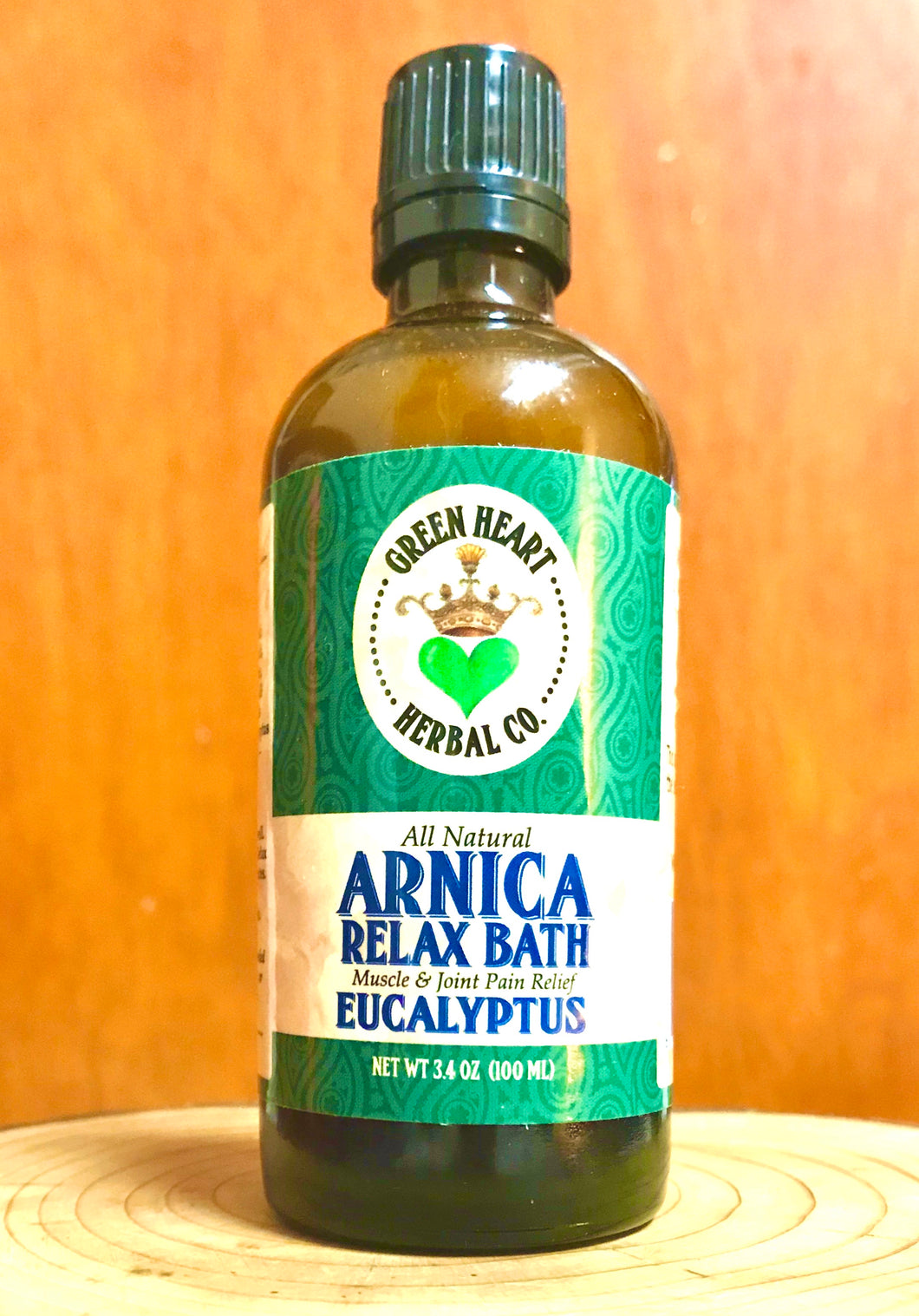 Arnica Relax Bath Eucalyptus- Full body Pain Reliever in the Bathtub