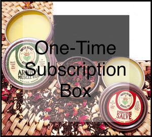One Time Subscription Box