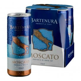 Bartenura Moscato 4 Pack Cans - 250 ML (13% OFF)