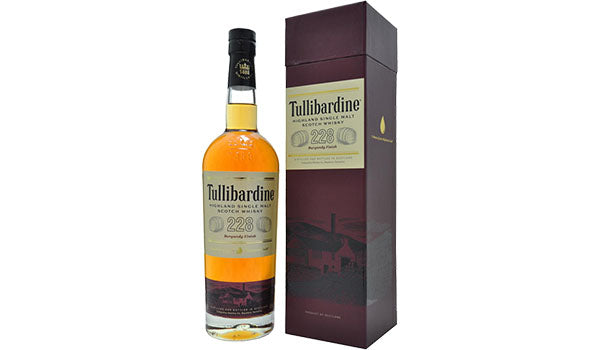 Load image into Gallery viewer, Tullibardine 228 Burgundy Cask Finish