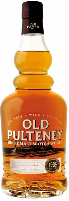Old Pulteney 1989 Single Malt Scotch Whiskey