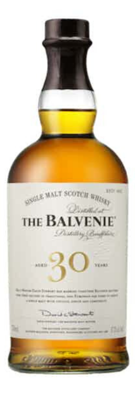 The Balvenie 30 Years Old Speyside Scotch Single Malt