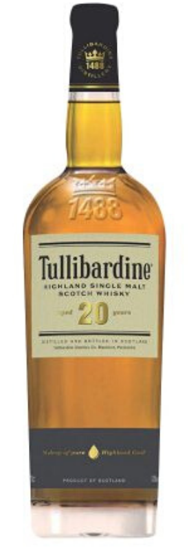 Tullibardine 20 Year Old Single Malt Highland Scotch Whisky