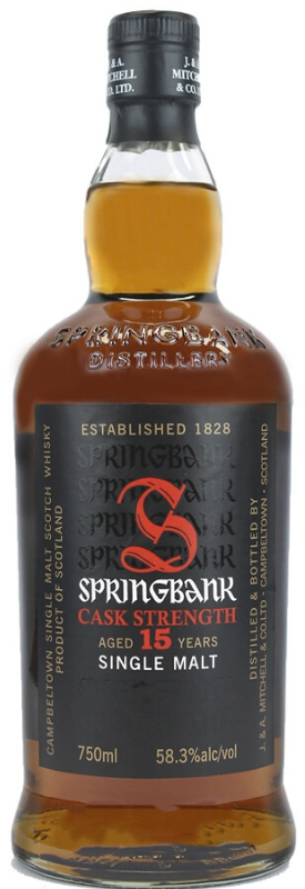 Springbank 15 Year Old Cask Strength Single Malt Scotch Whisky