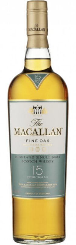 The Macallan 15 Year Old Highland Single Malt Scotch Whisky