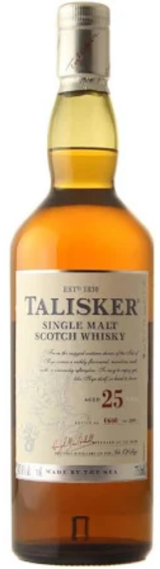 Talisker 25 Year Old Single Malt Scotch Whisky