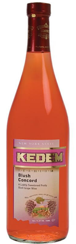 Load image into Gallery viewer, Kedem Blush Concord Wine 750ml