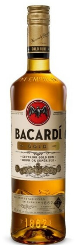 Load image into Gallery viewer, Bacardi Gold Rum