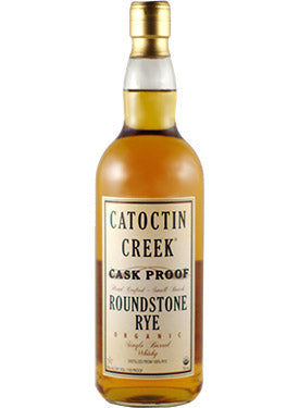 Catoctin Creek Cask Proof Roundstone Rye Whisky