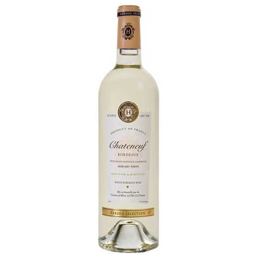 Chateneuf Semi Dry White Bordeaux