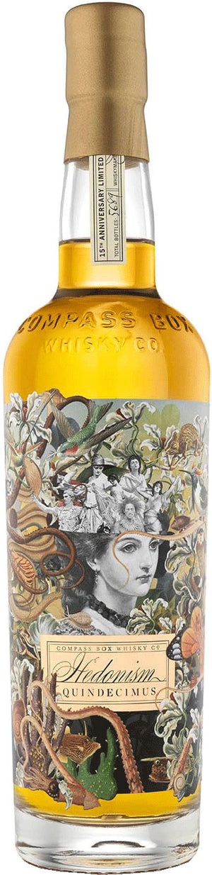 Load image into Gallery viewer, Compass Box Hedonism Quindecimus Scotch Whisky