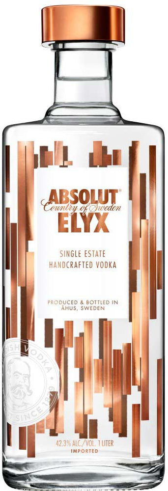 Absolut Elyx Single Estate Handcrafted Vodka (1L)