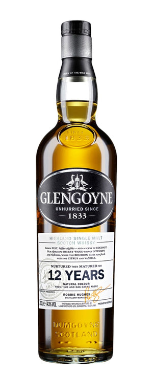 Glengoyne 12 Year Old Single Malt Scotch Whisky