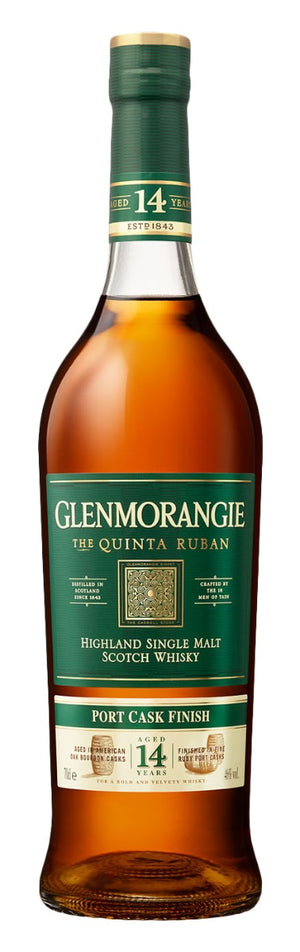 Glenmorangie Quinta Ruban 14 Year Old Single Malt Scotch Whisky