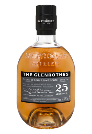 The Glenrothes 25 Year Old Single Malt Scotch Whisky
