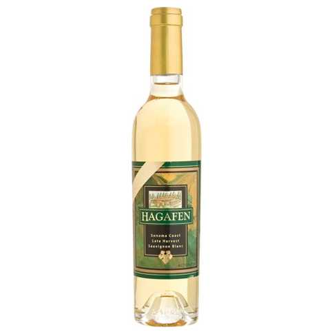 Load image into Gallery viewer, Hagafen Late Harvest Sauvignon Blanc (375ml Mini Bottle)