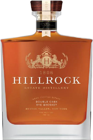 Hillrock Double Cask Rye Whiskey
