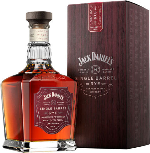 Jack Daniel's Single Barrel Tennessee Rye Whiskey