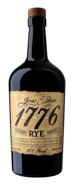 James E. Pepper 1776 100 Proof Straight Rye Whiskey