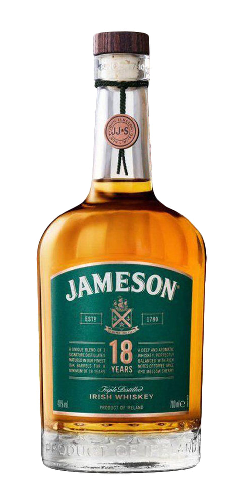 Jameson 18 Year Old Limited Reserve Irish Whiskey