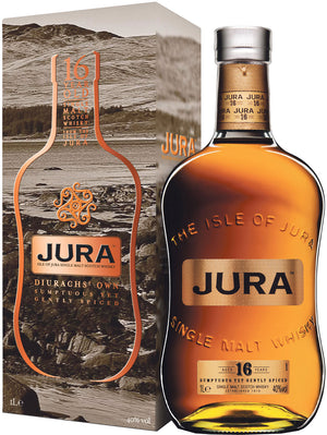 Jura 16 Year Old Single Malt Scotch Whisky