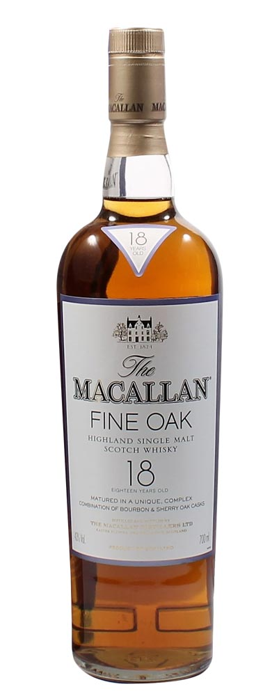 Load image into Gallery viewer, The Macallan 18 Year Old Fine Oak Scotch Single Malt Whisky