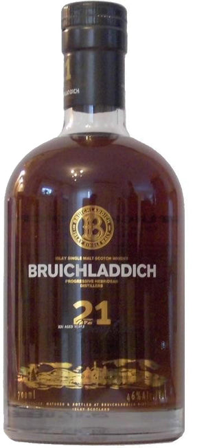Load image into Gallery viewer, Bruichladdich 21 Year Old Single Malt Scotch Whiskey
