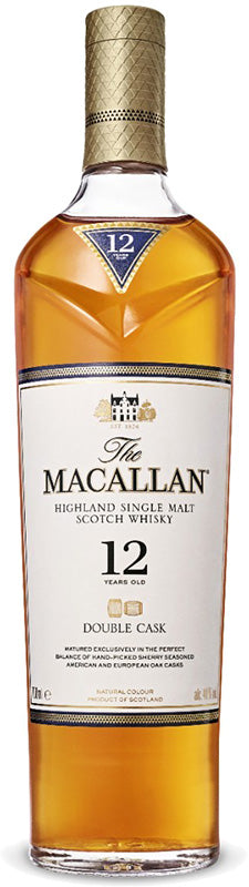 The Macallan 12 Year Old Double Cask 750ml